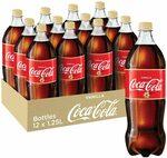 Coca-Cola Vanilla Coke 12x 1.25l Bottles $18.84 ($16.96 S&S) + Delivery ($0 with Prime/ $39 Spend) @ Amazon AU