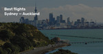 New Zealand Return: MEL↔AKL $305, MEL↔CHC $298, SYD↔AKL $348, MEL↔WLG $397 on Jetstar (19 Apr-31 Dec) @ Beat That Flight