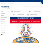 25% off Everything  + Free Shipping over $50 @ Lifeline Queensland (Online Only)