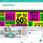 [VIC] Free Shipping on Order over $30 @ Matchbox