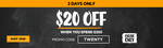 20% Cashback at First Choice Liquor via ShopBack ($20 Cap) + $20 off $200 Spend