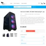 Core i5-10400F RTX 3060 Ti Gaming PC: $1448 + Shipping (14-21 Business Days) @ TechFast