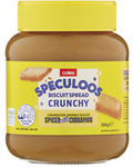 Coles Speculoos Crunchy Biscuit Spread 350g $1.75 (50% off) @ Coles