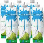 Cocobella Coconut Water Straight up, 6x 1L $15 ($13.50 with S&S) + Delivery ($0 with Prime/ $39 Spend) @ Amazon AU