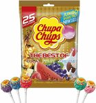 Chupa Chups Best of Lollipops 25 Lollipops 300g (Min. order 3) $4.00 ($3.60 S&S)+ Delivery ($0 with Prime/$39 Spend) @ Amazon AU