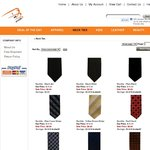 $7 for Stylish Ties - Over 30+ Necktie Styles - Free Shipping - Buy 5 Ties and Get One Free