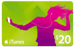 2x $20 iTunes Cards for $30 (Save $10) Delivered @ BigW
