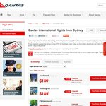Qantas Asia on Sale - Sydney to Hong Kong Return Economy $768