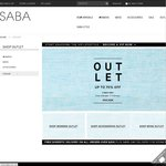SABA Online OUTLET up to 70% OFF Ends Midnight 17 February