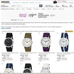 Timex Weekender Watch $19.99 USD + Shipping ($32.18 AUD Posted) @ Amazon