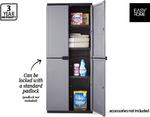 Keter?/EasyHome Space Rite Plastic Storage Cabinet $79.99 Aldi this Saturday