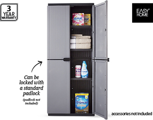 EasyHome Space Rite Plastic Storage Cabinet $79.99 Aldi this Saturday - OzBargain  sc 1 st  OzBargain & Keter?/EasyHome Space Rite Plastic Storage Cabinet $79.99 Aldi this ...