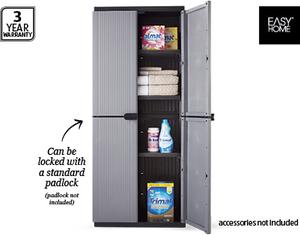 Keter Easyhome E Rite Plastic Storage Cabinet 79 99 Aldi This