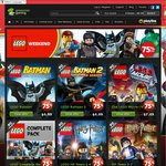 GreenManGaming LEGO Weekend Sale 75% off Many Titles + 20% off Coupon Code [PC Game]