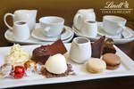 Lindt Chocolate Café - $22 Dessert Platter with Hot Chocolate for 2 [NSW & VIC] via Groupon