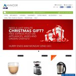 Save 5% +Free Express Shipping @ Avancer on Kitchen Appliances, Glassware and More