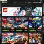 LEGO Sale at GreenManGaming: Movie VG, Hobbit, Marvel SH, LoTR, Harry Potter USD$4.99 +20% off