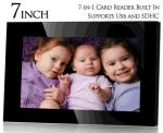 COTD - 7 Inch Digital Photo Frame - $29.95 + $6.95 Postage