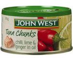 John West Tuna 95g $0.89 (Save $1.11) @ Woolworths
