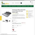 40cm High Plastic Chess Sets $162.50 (Was $325) 50% off @ Yardgames