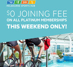 $0 Joining Fee on all Platinum Membership @ MSAC Albert Park (Melbourne Sports & Aquatic Centre)
