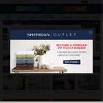 Sheridan Outlet 70% off All Branded Stock