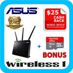 ASUS RT-AC68U + 16GB SanDisk microSD Card $195 (after $25 Asus Cashback) & Bonus $100 eBay Voucher @ Wireless 1 eBay