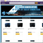 Up to 50% off Roccat Gaming Gear @ Mwave