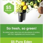 $5  Boost Juice Pure Eden Smoothie via App