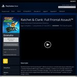 Ratchet & Clank: Full Frontal Assault, and Deadlocked Free for PS3/PSV