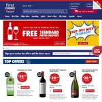 Free Standard Metro Delivery @ First Choice Liquor - Today Only (All Orders, Includes Beer & Premix, No Minimum Spend)