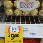 Ferrero Rocher T30 375gr 1/2 Price / $9.50 @ Coles (Murwillumbah, NSW)