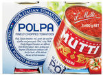 27% off Mutti Polpa Finely Chopped Tomatoes 2x400g $2, 75% off Fuel Your Imagination Chocolate Milk Cereal 450g $1.50* @ Coles