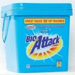 Biozet Attack Laundry Powder Front Loader 7.5kg for $29 at Reject Shop