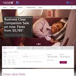 Qatar Airways - 10% off Base Fare from Melbourne, Sydney, Perth, and Adelaide
