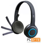 Logitech H600 2.4 Ghz Wireless Plug and Play Noise-Canceling Headset Headphone $62.40 at PC Byte eBay