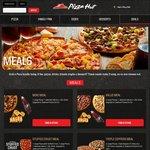 2 Large Pizzas, 1 Side, 1.25L Drink $29.95 Delivered @ Pizza Hut