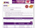 TPG ADSL2+ Plans Upgraded $49.99 180GB (90+90GB) - Shaped to 256kb/s