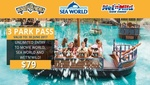[Gold Coast] Unlimited Theme Park Entry (Movie World, Sea World and Wet'n'Wild) till 30 June 2017 $79 @ Groupon