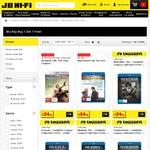 Blu-Ray Madness - Buy 1 Get 1 Free @ JB Hi-Fi