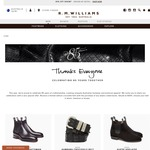 R.M. Williams - Complimentary Crocodile Belt with Boots Purchase