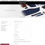 Politix $30 Voucher on Sign up (Min Spend $75)
