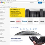 15% off Tyres @ eBay Australia (Selected Sellers)
