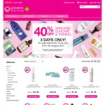 Priceline - 40% off Skincare, Suncare, Tanning and Swisse for 3 Days, 2nd-4th August 2017