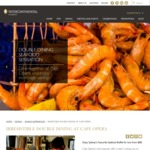 [DOUBLE DINING] Lunch Seafood Buffet for 2 for $88 for Two (Normally $110) at Intercontinental Sydney + MORE