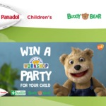 Win 1 of 20x Build-A-Bear Parties Worth $200 Each for Your Child from Panadol
