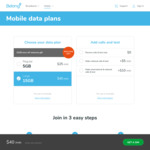 Belong Mobile, $45/Month 15GB Unl. National Calls+Text, Double Data First Month
