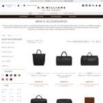 R.M Williams - 30% off Selected Leather Accessories