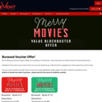 [NSW] eVoucher Offer for Event Cinema Burwood - 5 tickets for $50 or 10 for $90