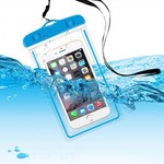 """Transparent Silicone Waterproof Pouch for 4-6"""" Mobile Phones - $0.80USD (~AU$1.07) Delivered @ Zapals"""